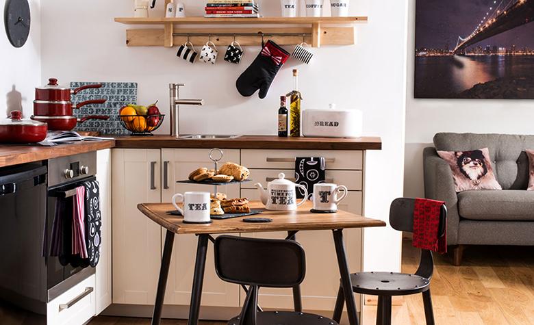 Az amerikai konyhás nappali berendezése ‒ előnyök és hátrányok
