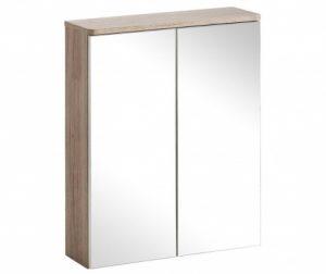 Samba Fali szekrény tükörrel