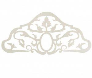 Baroque White Ágytámla 165 cm