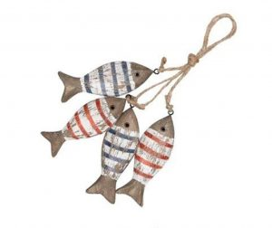 Striped Fishes Felfüggeszthető dísztárgy