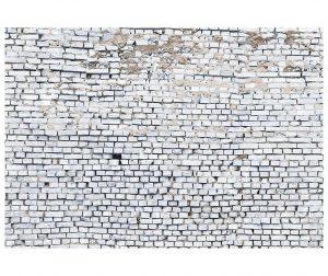 White Brick Fotótapéta 254x368 cm