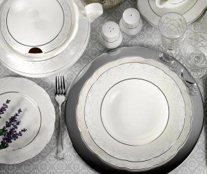 Dinner Charmaine 61 darabos Étkészlet