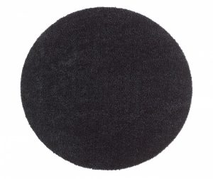 Round Soft and Clean Black Szőnyeg 75 cm