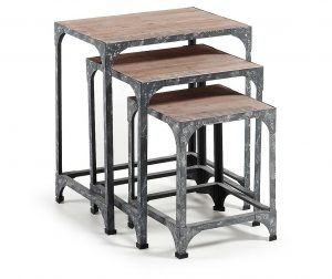Erutna 3 darab Moduláris asztalka