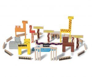 Animal Blocks 95 darabos Építő játék