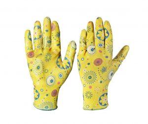 Yellow World Kertészkesztyű S