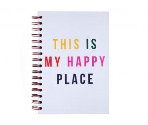 Happy Place Spirálos határidőnapló