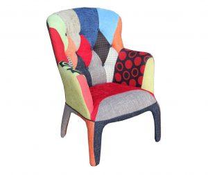 Kaleidos Patchwork Fotel