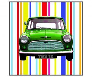 Mini Green Kép 70x70 cm