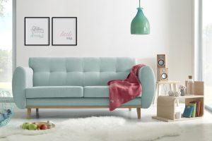 Viking Powder Blue Háromszemélyes kanapé