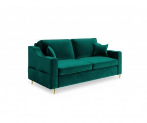 Marigold Bottle Green Kétszemélyes kanapé