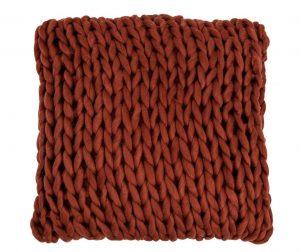 Knitted Square díszpárna 40x40 cm