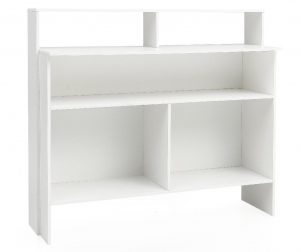 Modern White Könyvszekrény