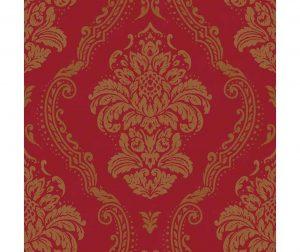 Lucetta Red Tapéta 53x1005 cm