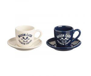 Varsity Espresso 2 db Csésze és 2 db kistányér