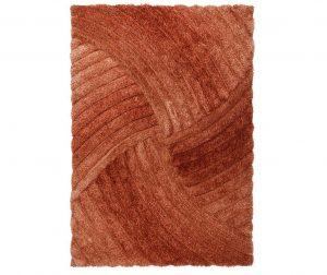 Furrow Plus Terracotta Szőnyeg 160x230 cm