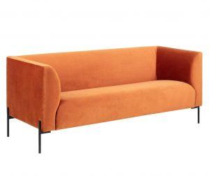 Ontario Copper Háromszemélyes kanapé