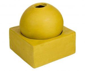 Zen Mustard Gyertyatartó M