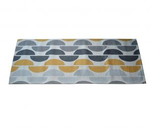 Halfmoon Grey Ochre Szőnyeg 60x115 cm