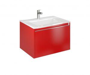 Cielo 60 Imperial Red Mosdószekrény és mosdókagyló